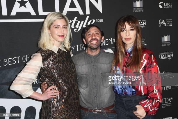 Annabelle Attanasio Marcello Fonte and Sabrina Impacciatore attends the Cinema Italian Style'18 CINECITTÃ KEY A Celebration Of Italian Cinema at...