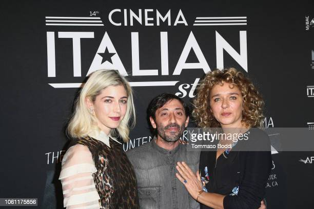 Annabelle Attanasio Marcello Fonte and Valeria Golino attend the Cinema Italian Style'18 CINECITTÃ KEY A Celebration Of Italian Cinema at Hollywood...