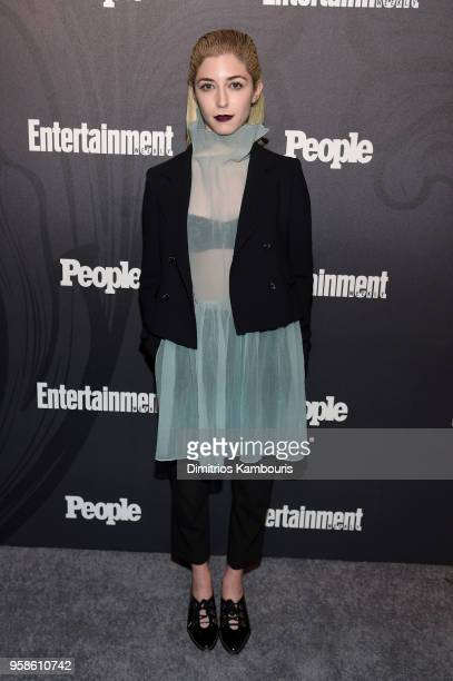Annabelle Attanasio of Bull attends Entertainment Weekly PEOPLE New York Upfronts celebration at The Bowery Hotel on May 14 2018 in New York City
