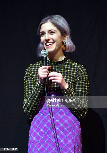 Annabelle Attanasio speaks onstage at the 'Mickey and the Bear' Premiere during the 2019 SXSW Conference and Festivals at Stateside Theatre on March...