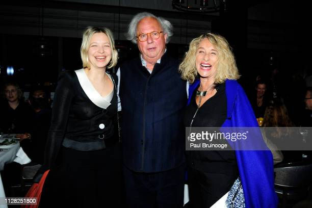Annabelle DexterJones Graydon Carter and Ann DexterJones attend HBO Hosts The After Party For The Inventor Out For Blood In Silicon Valley at Porter...