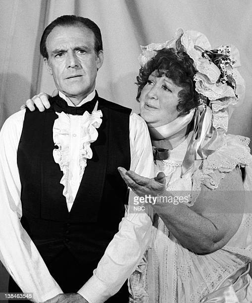 PRAIRIE Annabelle Episode 5 Aired 10/15/79 Pictured Richard Bull as Nels Oleson Harriet Gibson as Annabelle