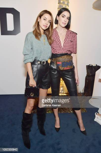 Annabelle Fleur and Brittany Xavier attend the FENDI MANIA Capsule Collection Launch Event at Fendi on October 16 2018 in Beverly Hills California