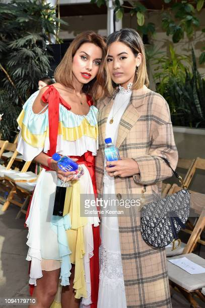 Annabelle Fleur and Jill Wallace attend JNSQ Rose Cru debuts alongside Rodarte FW/19 Runway Show at Huntington Library on February 5 2019 in Pasadena...