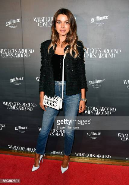 Annabelle Fleur at What Goes Around Comes Around on October 11 2017 in Beverly Hills California