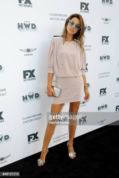 Annabelle Fleur attends FX Networks celebration of their Emmy nominees in partnership with Vanity Fair at Craft on September 16 2017 in Century City...