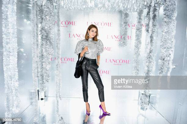 Annabelle Fleur attends Lancôme x Vogue Holiday Event at Delilah West Hollywood on November 29 2018 in West Hollywood California