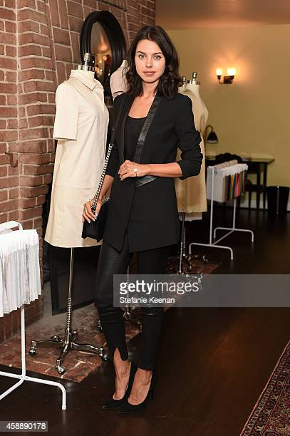 Annabelle Fleur attends PIOL Dressmaking Event LA at Chateau Marmont on November 12 2014 in Los Angeles California