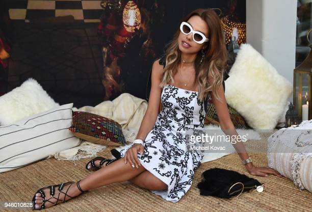Annabelle Fleur attends Rachel Zoe's 4th Annual ZOEasis at Parker Palm Springs on April 13 2018 in Palm Springs California