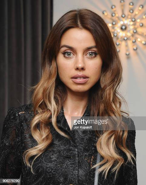 Annabelle Fleur attends Wolk Morais Collection 6 Fashion Show at The Hollywood Roosevelt Hotel on January 17 2018 in Los Angeles California