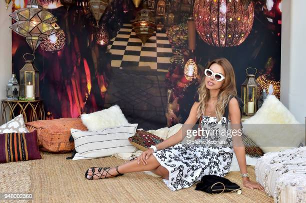 Annabelle Fleur attends ZOEasis 2018 at Parker Palm Springs on April 13 2018 in Palm Springs California