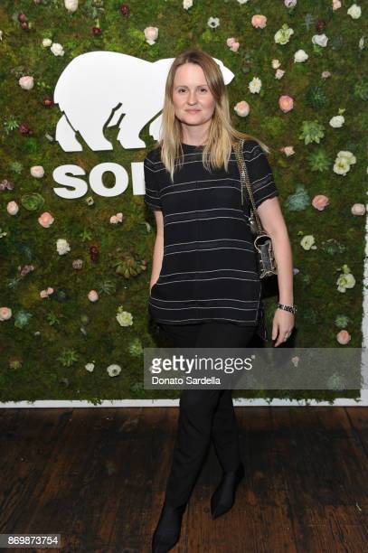 Annabelle Harron at SOREL x The Wall Group Stylist Dinner at The Eveleigh on November 2 2017 in Los Angeles California