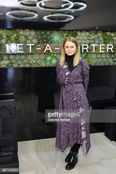 Annabelle Harron attends NETAPORTER New Designers Cocktail on December 1 2016 in Los Angeles California
