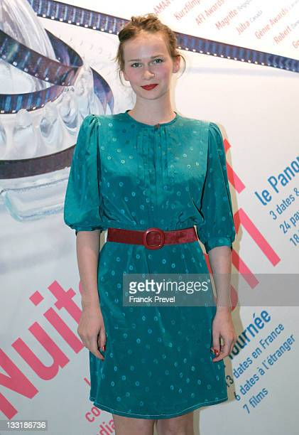 Annabelle Hettmann attends the 'Panorama' Closing Dinner Hostedat UNESCO on July 6 2011 in Paris France