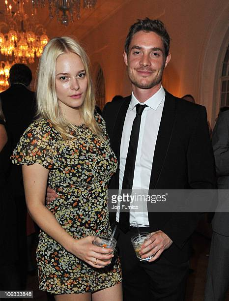 Annabelle Horsey and Max Brown attend the after party for the European Premiere of '127 Hours' during the closing gala of the 54th BFI London Film...