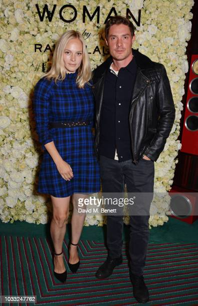Annabelle Horsey and Max Brown attend the European launch of WOMAN by Ralph Lauren hosted by Jessica Chastain at Isabel on September 14 2018 in...