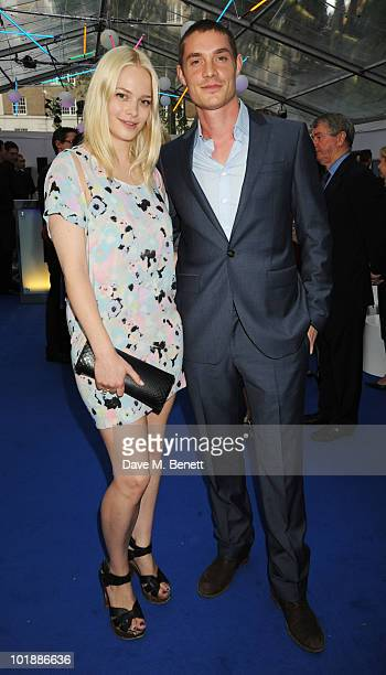 Annabelle Horsey arrives at the Glamour Women Of The Year Awards at Berkeley Square Gardens on June 8 2010 in London England on June 8 2010 in London...