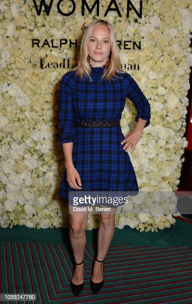 Annabelle Horsey attends the European launch of WOMAN by Ralph Lauren hosted by Jessica Chastain at Isabel on September 14 2018 in London England