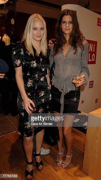 Annabelle Horsey attends the launch party of Uniqlo's new flagship store on Oxford Street at Uniqlo November 6 2007 in London England