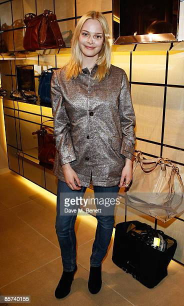 Annabelle Horsey attends the Tod's JP Loafer Collection Cocktail Party at Tod's on March 31 2009 in London England