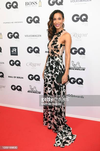 Annabelle Mandeng arrives for the 20th GQ Men of the Year Award at Komische Oper on November 8 2018 in Berlin Germany