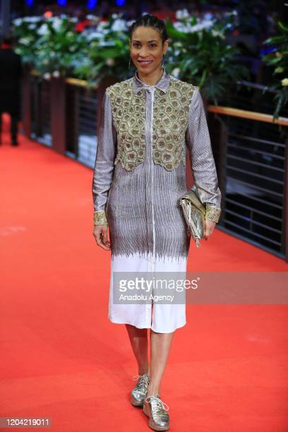 Annabelle Mandeng attends the award ceremony of 70th Berlinale International Film Festival in Berlin Germany on February 29 2020