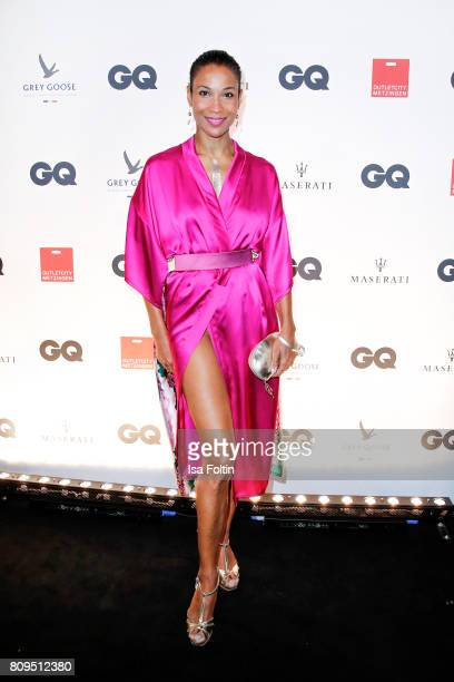 Annabelle Mandeng attends the GQ Mension Style Party 2017 at Austernbank on July 5 2017 in Berlin Germany