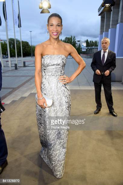 Annabelle Mandeng attends the IFA 2017 opening gala on August 31 2017 in Berlin Germany