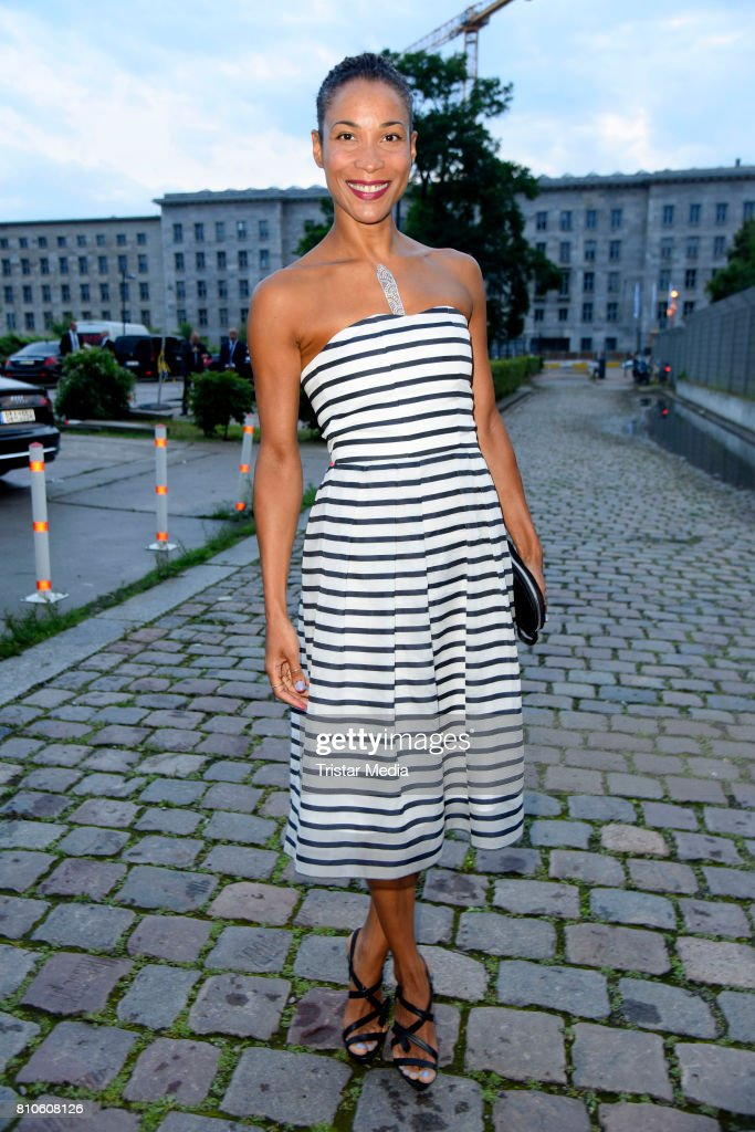 Annabelle Mandeng attends the MICHALSKY StyleNite (Atelier Michalsky show) during the Mercedes-Benz Fashion Week Berlin Spring/Summer 2018 at e-Werk on July 7, 2017 in Berlin, Germany.