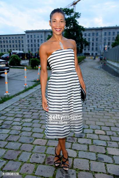 Annabelle Mandeng attends the MICHALSKY StyleNite during the MercedesBenz Fashion Week Berlin Spring/Summer 2018 at eWerk on July 7 2017 in Berlin...