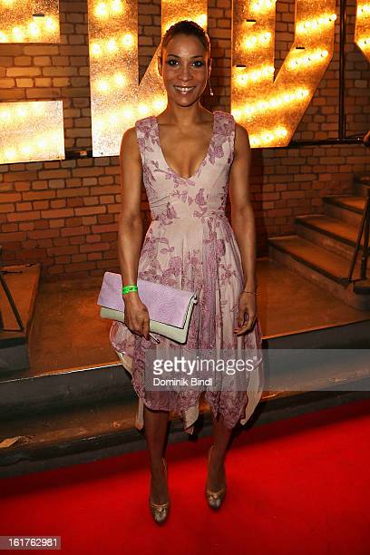 Annabelle Mandeng attends the Teddy Award during the 63rd Berlinale International Film Festival at Station Berlin on February 15 2013 in Berlin...