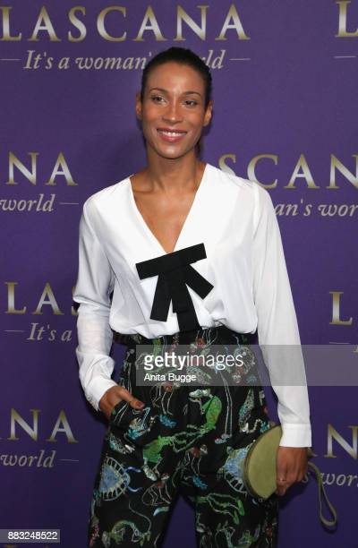 Annabelle Mandeng attends the the opening of the 'Sound of Passion' exhibition at Hotel De Rome on November 30 2017 in Berlin Germany