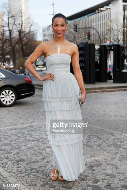 Annabelle Mandeng attends the Victress Awards gala on April 9 2018 in Berlin Germany