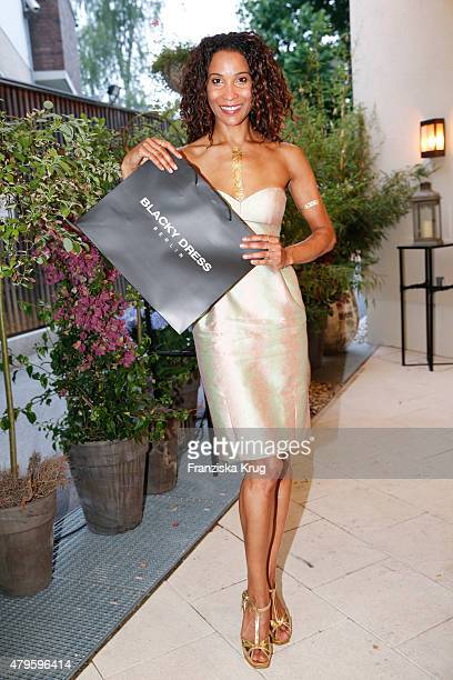 Annabelle Mandeng attends the Wanawake Ladies Dinner at Hotel Zoo on July 05 2015 in Berlin Germany