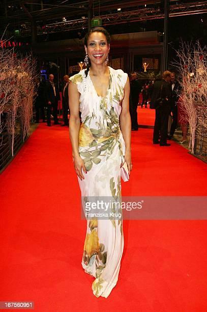 Annabelle Mandeng Bei Der Party Nach Der Eröffnung Der 57 Internationalen Berlinale Mit Dem Film 'La Vie En Rose' In Berlin
