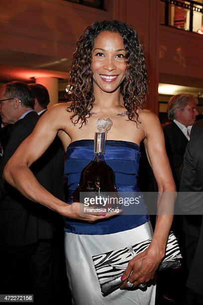 Annabelle Mandeng during the Hennessy 250th anniversary celebrations on May 5 2015 in Berlin Germany