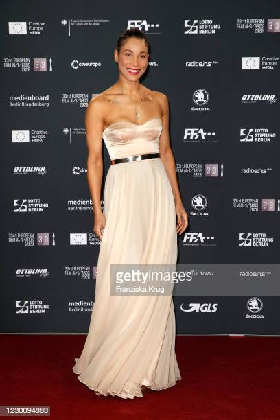 Annabelle Mandeng during the SKODA x European Film Awards 2020 at Futurium on December 12, 2020 in Berlin, Germany.