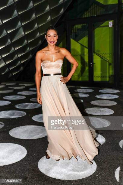 Annabelle Mandeng during the SKODA x European Film Awards 2020 at Futurium on December 12, 2020 in Berlin, Germany.
