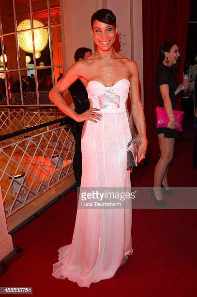 Annabelle Mandeng is seen at the after show party of the GQ Men Of The Year Award 2014 after show party at Komische Oper on November 6 2014 in Berlin...