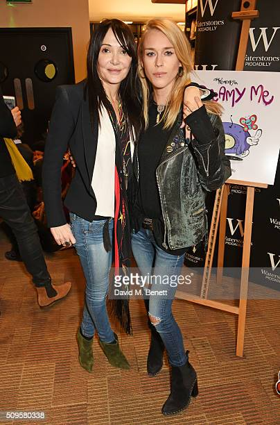 Annabelle Neilson and Lady Mary Charteris attend the launch of Annabelle Neilson's new children's books 'Dreamy Me' and 'Messy Me' at Waterstones...