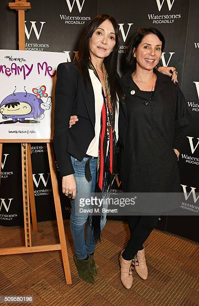 Annabelle Neilson and Sadie Frost attend the launch of Annabelle Neilson's new children's books 'Dreamy Me' and 'Messy Me' at Waterstones Piccadilly...