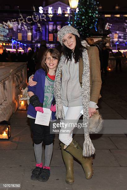 Annabelle Neilson attends 'Skate' presented by Tiffany and Co at Somerset House on November 22 2010 in London England