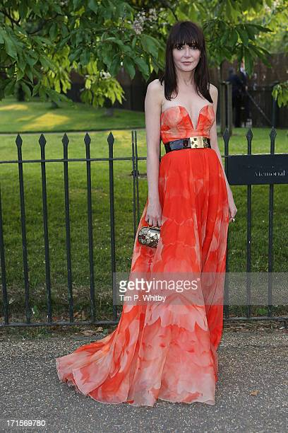 Annabelle Neilson attends the annual Serpentine Gallery summer party at The Serpentine Gallery on June 26 2013 in London England