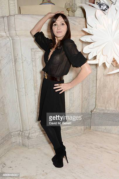 Annabelle Neilson attends the InStyle Best of British Talent party in celebration of BAFTA in association with Lancome and Sky Living at Dartmouth...