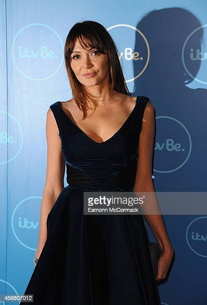 Annabelle Neilson attends the ITV BE launch at ITV Studios on October 7 2014 in London England