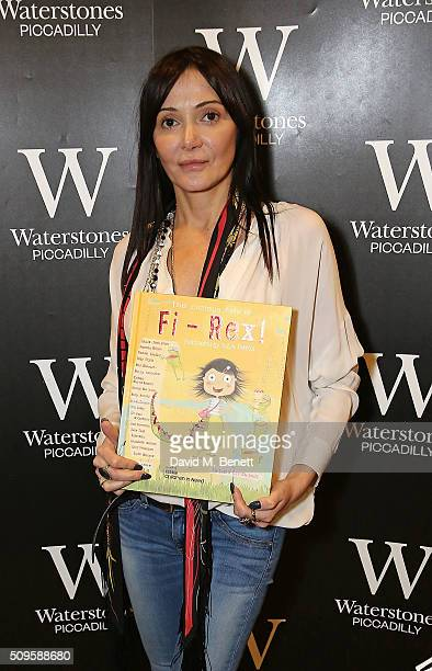 Annabelle Neilson attends the launch of Annabelle Neilson's new children's books 'Dreamy Me' and 'Messy Me' at Waterstones Piccadilly on February 11...