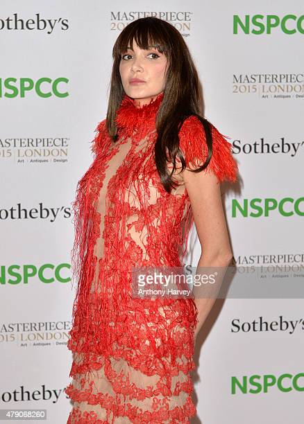 Annabelle Neilson attends the NSPCC NeoRomantic Art Gala at Masterpiece London on June 30 2015 in London England