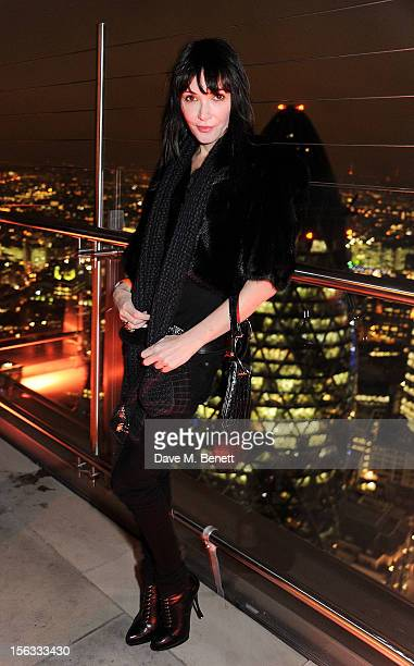 Annabelle Neilson attends the opening of new restaurant SushiSamba London in Heron Tower on November 13 2012 in London England