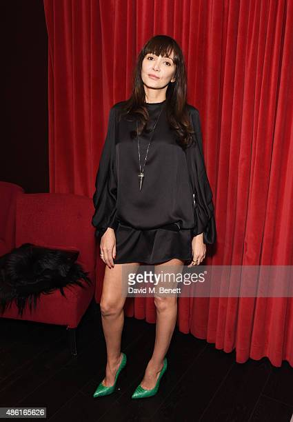 Annabelle Neilson attends the UK Premiere of 'Buttercup Bill' at Curzon Soho on September 1 2015 in London England