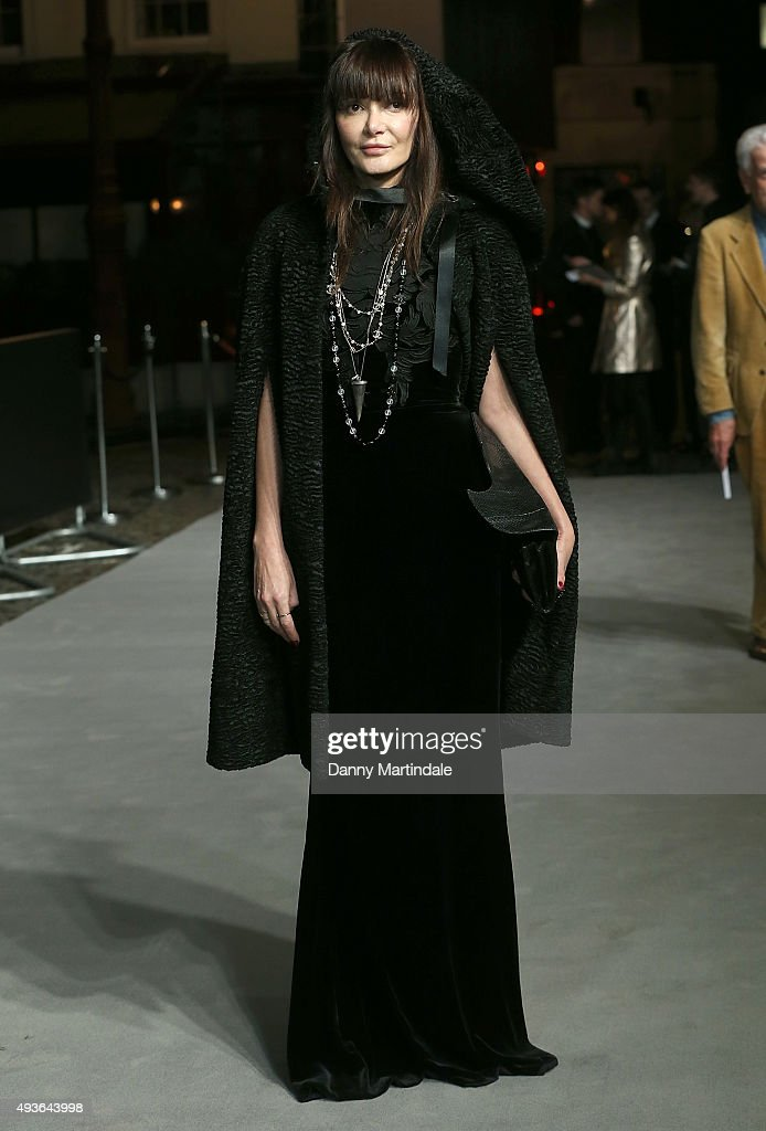 Annabelle Neilson attends the VIP Premiere of 'A Bigger Splash' hosted by AnOther magazine and Dior at The Curzon Mayfair on October 21, 2015 in London, England.